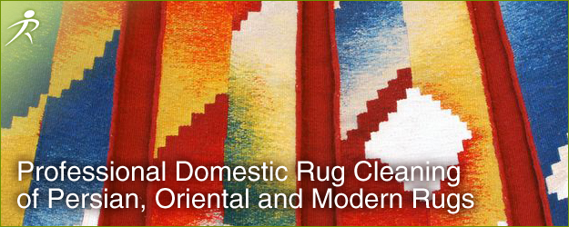 Professional Domestic Rug Cleaning of Persian, Oriental and Modern Rugs